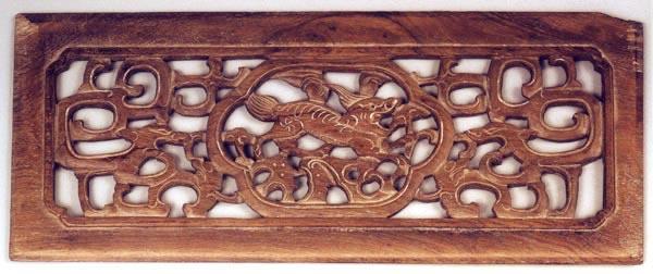 红木文化|红木古典家具雕刻中麒麟纹饰的运用|中山